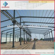 Le hangar industriel en acier léger conçoit des bâtiments préfabriqués à bas prix en acier
