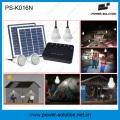 Portable Solar Home Lighting System with 4 Bulbs and USB Solar Phone Cahrger