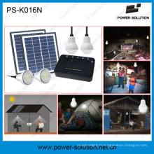 8 Watt Systeme Solaire 4 LED Ampoule Pour éclairage Familliale