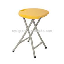 Moda Portátil Folding Stool Plástico Novo Piquenique Plástico Dobrável Cadeira Do Tamborete