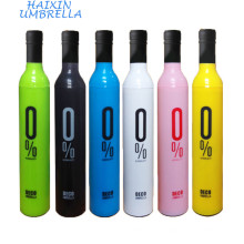 Анти-UV и лучшие подарки три раза вручную открыть бутылку вина зонтик производители Китай