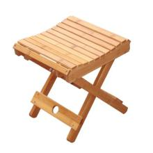 Bamboo Folding Stool for Bathroom or Outdoor