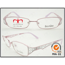 2015 Fashionable Eyewear Ladies Carved Temple Hot Selling Reading Glasses (WRM410011)