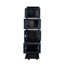 Standard IT system metal cabinets for telecommunications