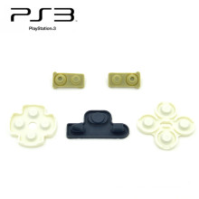 Токопроводящей резины колодки для сони Плейстейшен 3 кнопки для PS3 контроллер запчасти