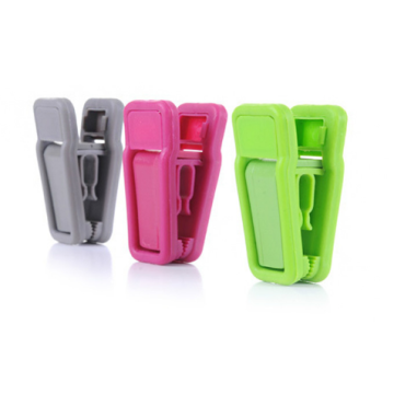 Kunststoff samt Hänger clips