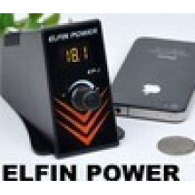 2014 Hot Sale Tattoo Elfin Power-1 Supply, Professional Digital Regulated Power Supply