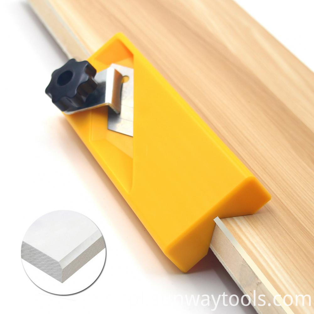 Wood Planer Edge Jig