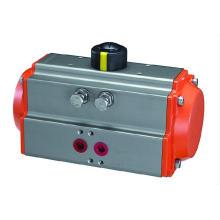 Actuador neumático: las válvulas solenoides se pueden montar fácilmente sin un tablón de conexión