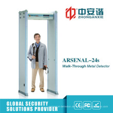 18 Zones Safe Door Military Bases Metalldetektor Tor