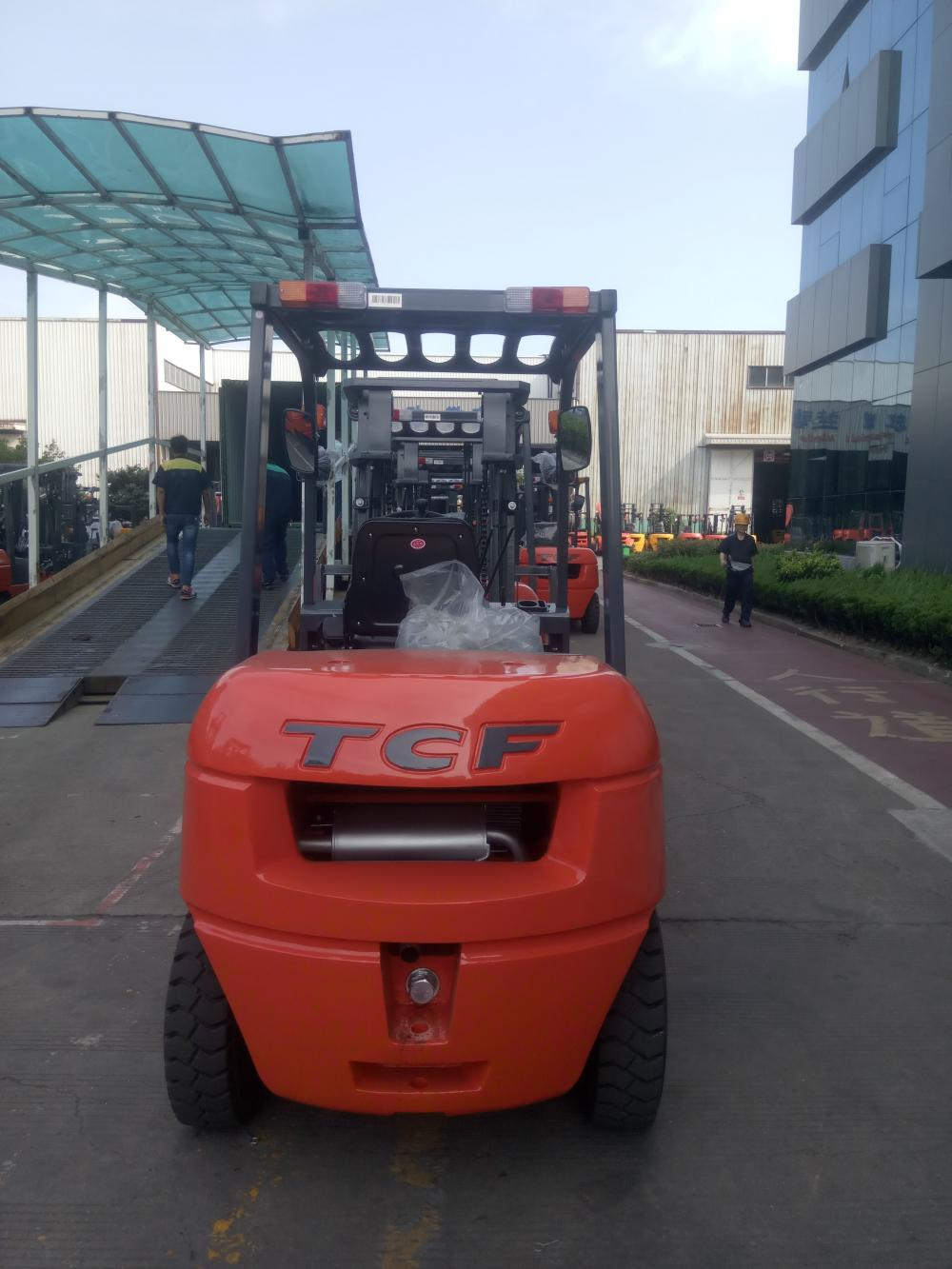 Forklift With High Security