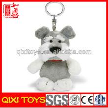 Porte-clés personnalisé chien cadeau mignon logo