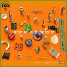 piezas metálicas de precisión de tratamiento superficial