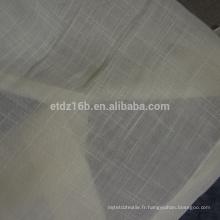 Nouveau tissu de rideau 100% polyester à ventre neuf