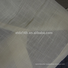 New arrival 100% Polyester sheer voile curtain fabric
