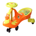Frog Shape Child Swing Car Outdoor Twist Car