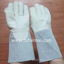 Rindsleder Schweißen Handschuhe Sicherheits Arbeitshandschuh