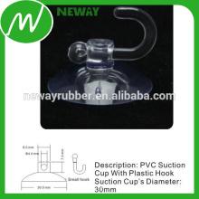 30-миллиметровая присоска с маленьким пластиковым крючком
