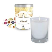 Buntes duftendes Glas-Geschenk-Kerzen-Glas Hotsale