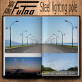 9M Galvanized Street Light Kutub