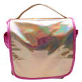 PINK SQUARE LASER BACKPACK-0