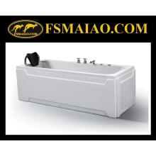Freestanding-Style Banheira Acrílico Brilhante-Branco (BA-8703)