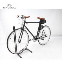 Novo 700C cidade pedelec racing ebike única velocidade elétrica bicicleta fixa engrenagem moto elétrica
