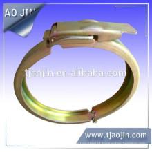 Grampo de tubulação personalizado, grampo de mangueira de tipo calha personalizável