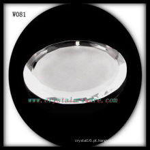 Grânulos de cristal redondos W081