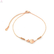 Cute Stainless Steel Charm Gold Plated Fish Bracelet