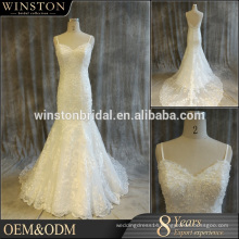 China supply all kinds of wedding dresses with brown accents
