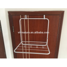 Over the Door 5 Hook Rack - collapsible Hanger and rack for Hanging Your Clothes,coat,towel