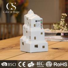 El escritorio recargable de la venta caliente llevó la luz con forma de la casa