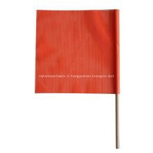 drapeau de tige de cheville en bois