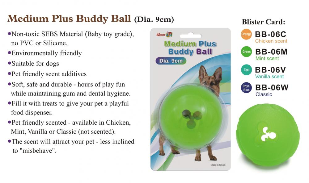 Medium Plus Buddy Ball All Flavors