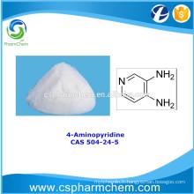 4-Aminopyridine, CAS 504-24-5, intermédiaire de synthèse pharmaceutique