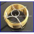Galvanizado / PVC revestido pequeno fio de bobina