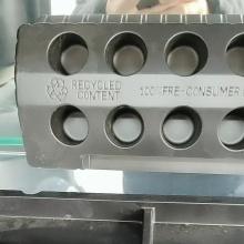 emballage de thermoformage plateaux de bouteilles de médicaments en plastique
