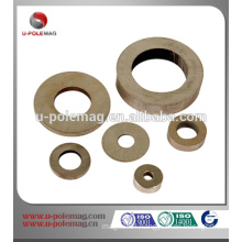 Permanent sintered ring alnico magnets