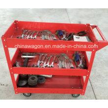 Тележка для инструментов из красной стали Rif Heavy Duty Work Sc1350