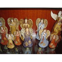 Décoration d'anges en céramique