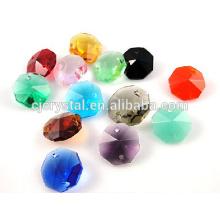 Venta al por mayor Perlas cristalinas del octágono de la piedra preciosa