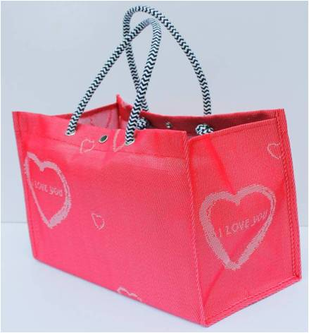 2Supermarkets fashion PE shopping bag