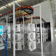Machines automatiques de revêtement de poudre pour le climatiseur