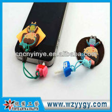 2013 design anti dust plug with cleaner for promotion from factory