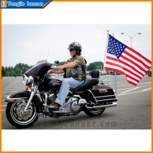 Bandeiras de motocicleta venda quente de publicidade para atacado