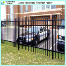 Galvanized and Powder Coated Iron Fencing
