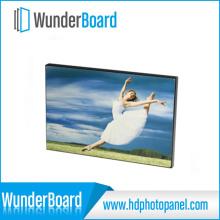 Borda fina cor de quadro-negro foto do Metal para painéis de foto de Metal HD Wunderboard