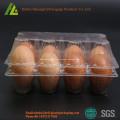 plateaux d'emballage d'oeufs en plastique