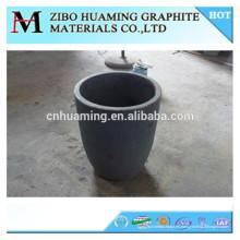 Crisol de alta densidad del grafito del precio de fábrica de China para derretirse